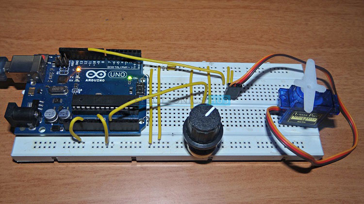 Lesson 11: Arduino Circuit to Dim LED with Potentiometer