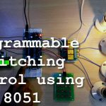 Programmable Switching Control using 8051 Microcontroller