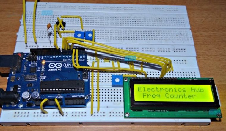 Frequency Counter Projects : Frequency counter using arduino