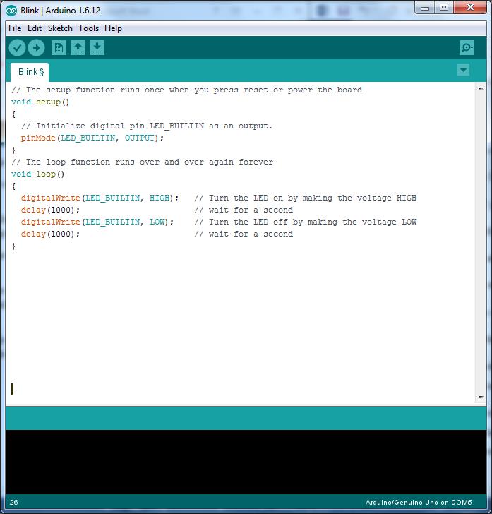 Arduino program analysis