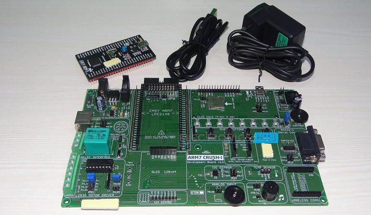 Blinking LEDs using ARM7(LPC2148)-1
