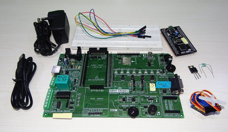Interfacing a Servo Motor with ARM7 LPC2148-1