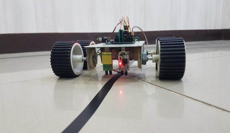 line follower robot The line follower attaches to your gopigo robot car and enables you to program it to follow a line program your gopigo to serve a drink across a room, and learn the basics of how automated warehouse or self-driving cars work.