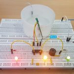 Simple Water Level Indicator with Alarm (Tested Circuits)