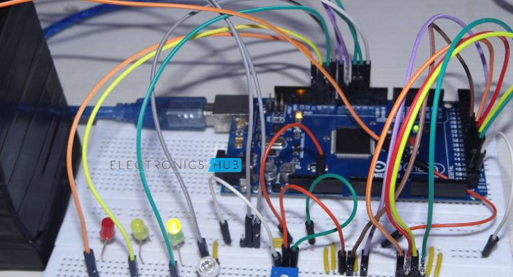 Arduino Based Color Detector