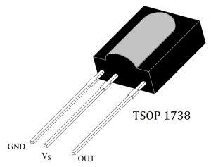 TSOP1738 Pinout
