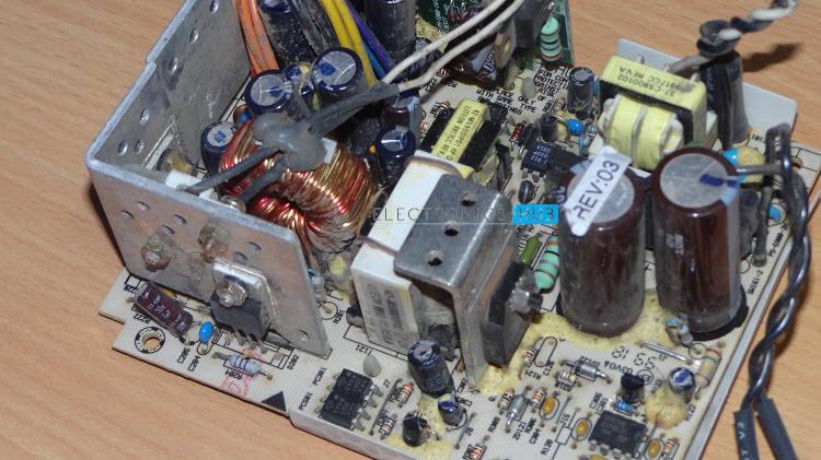 Laptop Power Supply Circuit Using Top269eg
