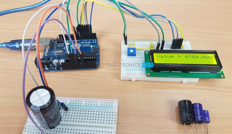 Arduino Capacitance Meter Circuit 1 Image 6
