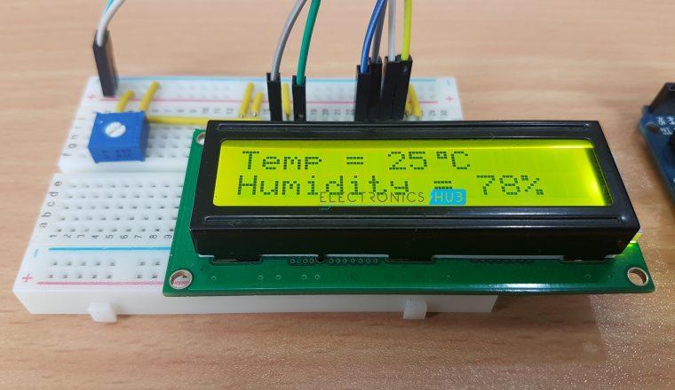 DHT11 Humidity Sensor on Arduino Image 3