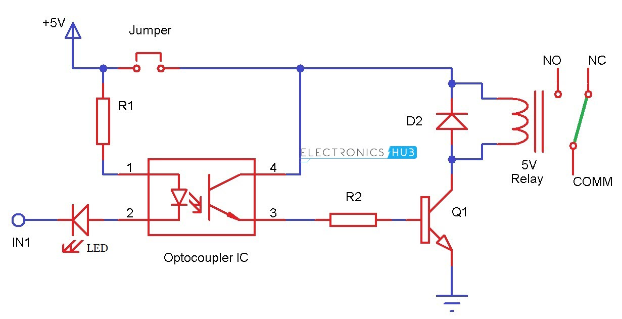 451pd2 further Diode Logic Gates furthermore Car Power  lifier Circuit Using C5100 further Introduction To Lm393 furthermore Zero Crossing Detector Circuit Using Pic Microcontroller. on transistor circuit diagram
