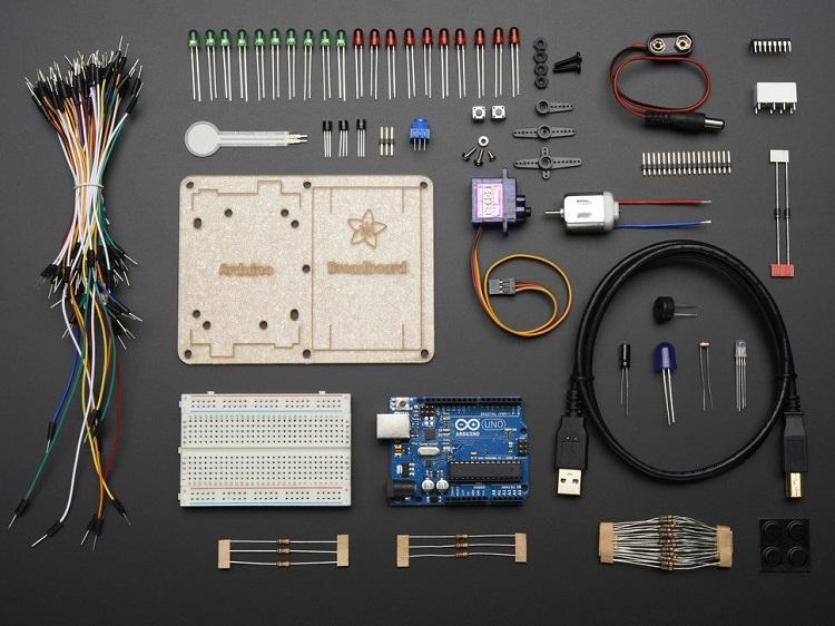 Adafruit Starter Kit Components