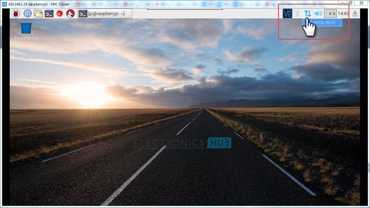Desktop WIFI ON