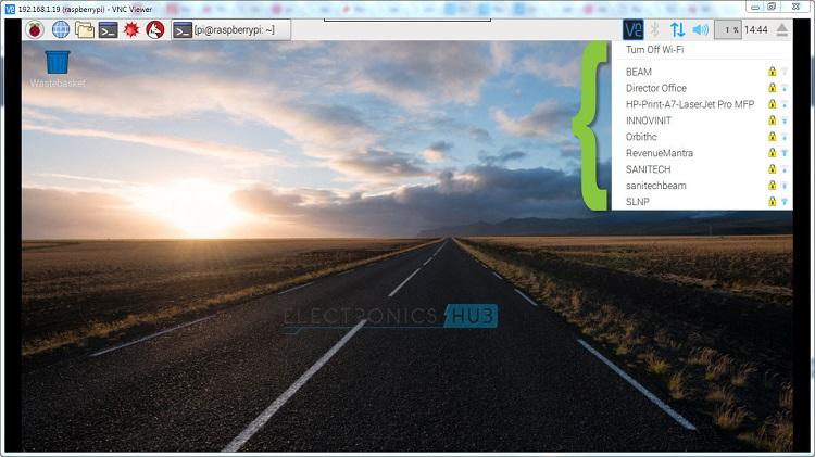 Desktop WIFI List