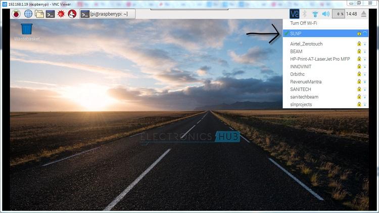 Desktop WIFI Success
