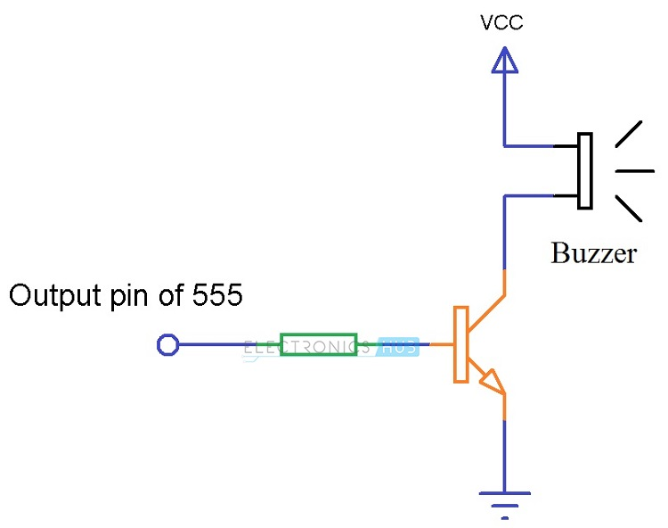 Buzzer with Transistor