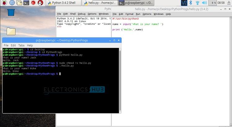 Python IDLE Run Execute