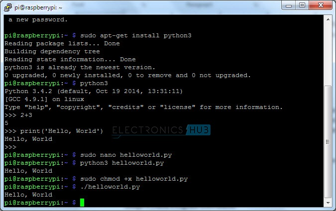 Python Program Executable