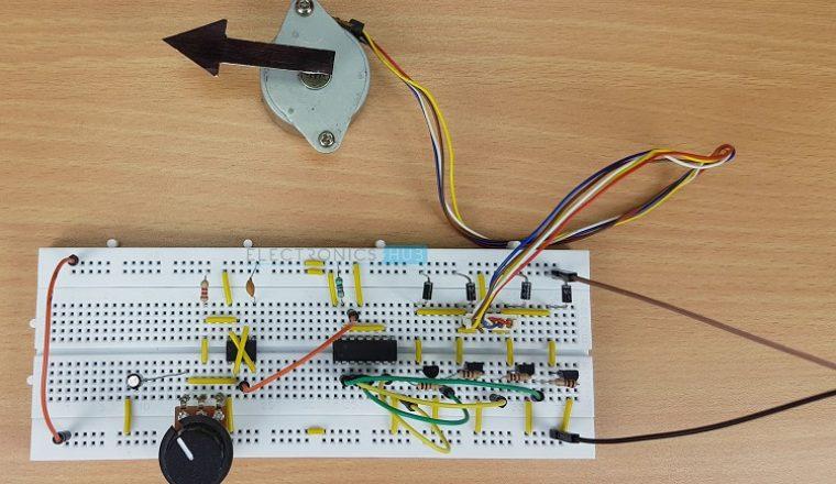 Stepper Motor Driver Circuit Image 2