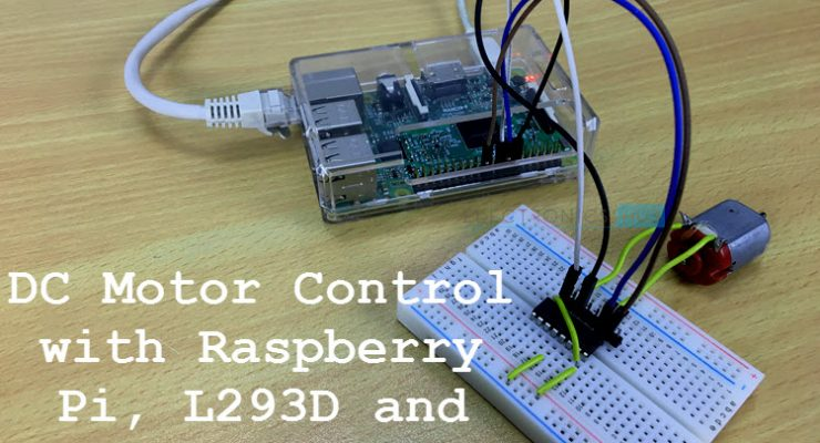 Controlling a DC Motor with Raspberry Pi