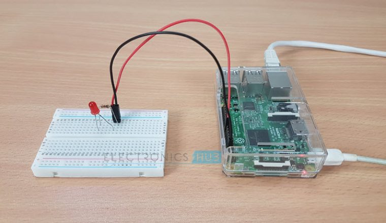 How to Blink an LED with Raspberry Pi Image 2