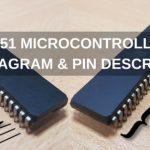 8051 Microcontroller Pin Diagram and Pin Description
