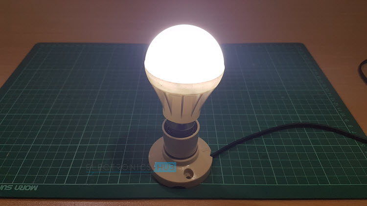 Diy Wall Lamp Led : DIY LED Light Bulb (LED Lamp)