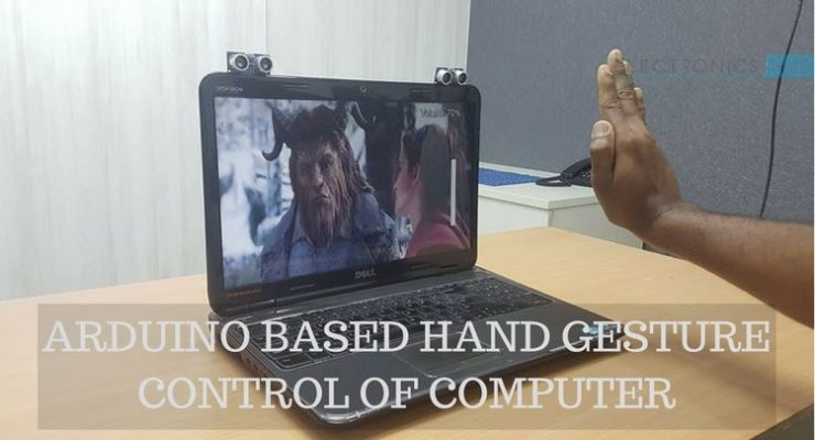 Arduino based Hand Gesture Control of Your Computer