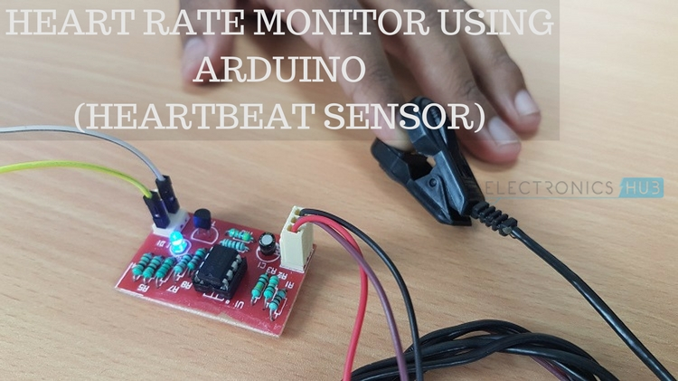 Heartbeat Sensor Using Arduino Heart Rate Monitor
