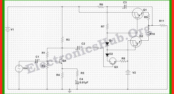 150 Watt Power Amplifier Circuit