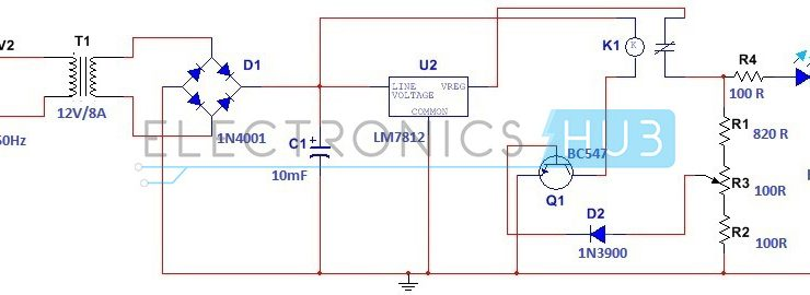Car Battery Charger Circuit Diagram