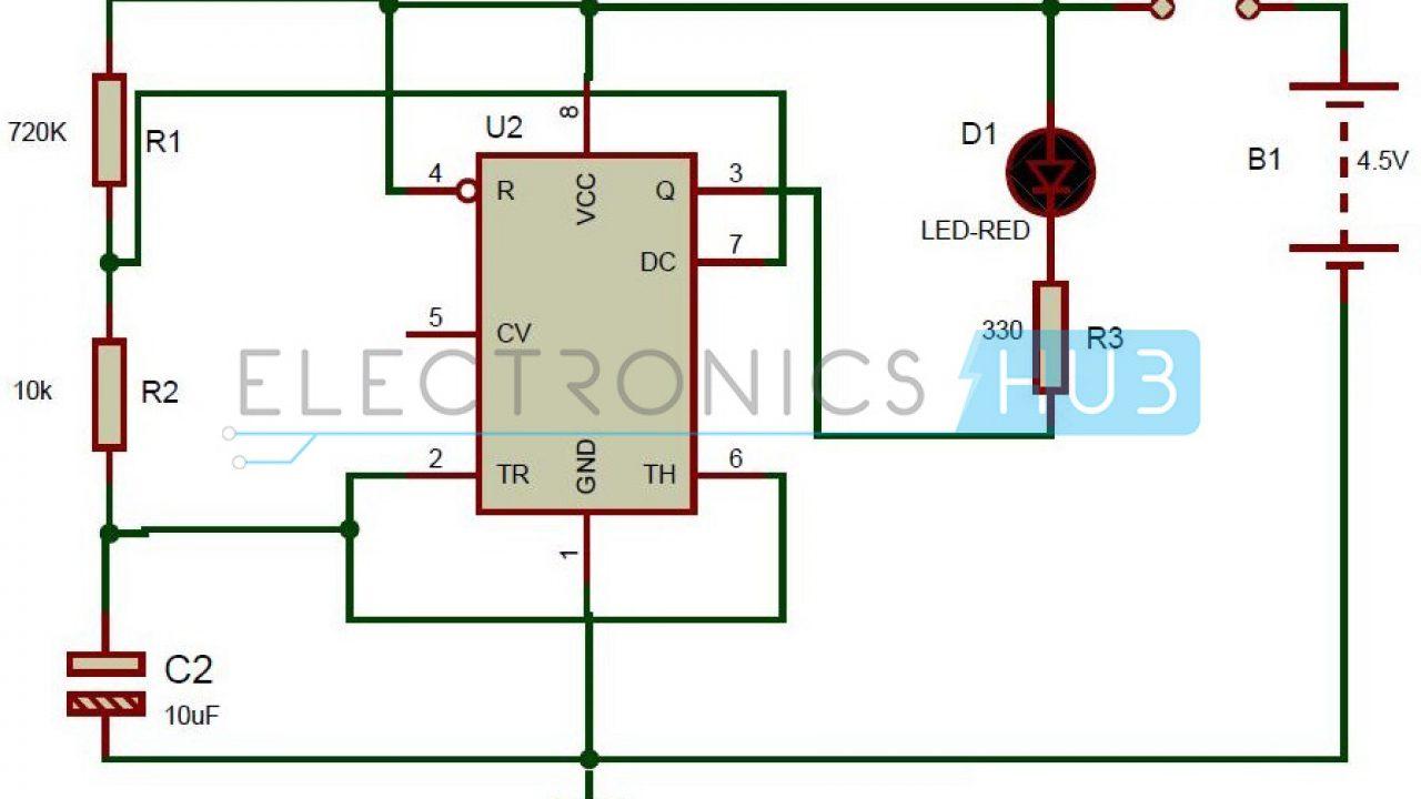 555 Logic Diagram - Wiring Diagram Networks