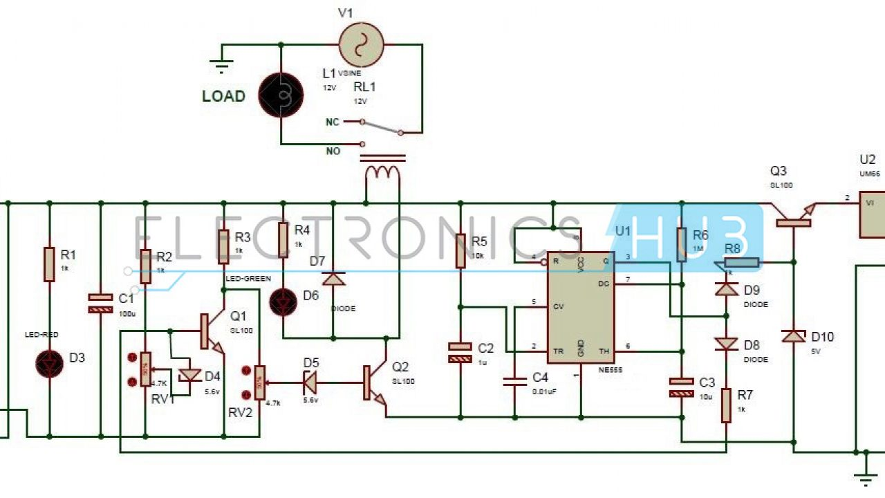 Wiring Diagram Under Voltage Relay