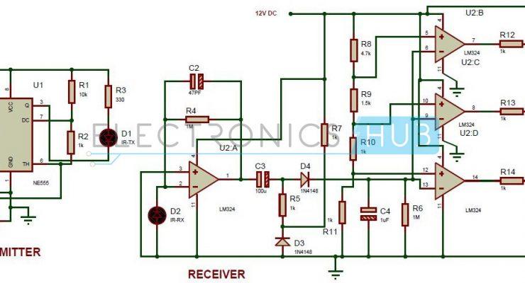 Reverse Parking Sensor Circuit