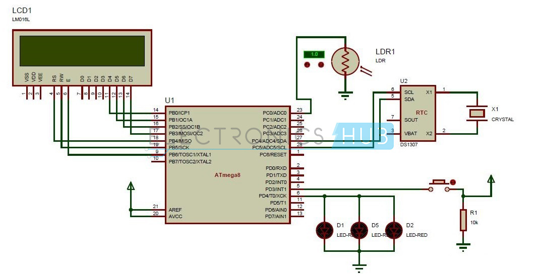 Street Lights That Glow on Vehicle Movement Circuit Diagram street lights that glow on detecting vehicle movement circuit solar street light wiring diagram at n-0.co