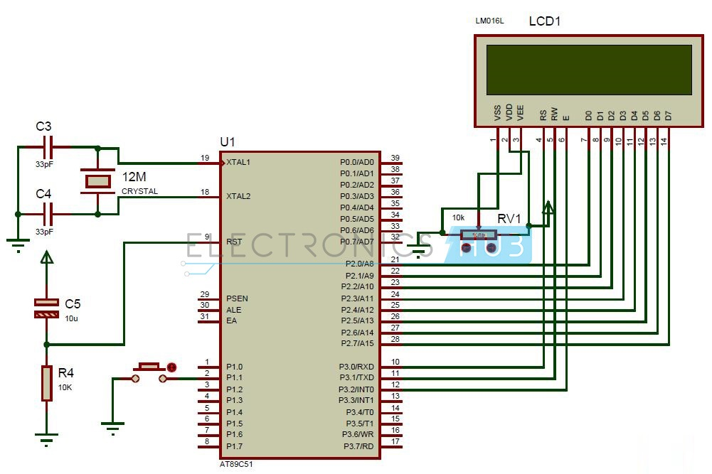 Random Number Generator Circuit Using 8051 Microcontroller