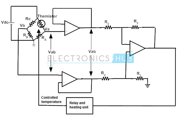 instrumentation amplifier circuit design and applications rh electronicshub org Audio Amplifier Circuit Power Amplifier Circuit