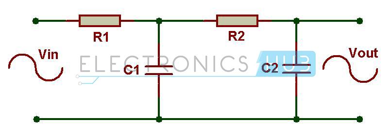 Fig: filtro de paso bajo de segundo orden