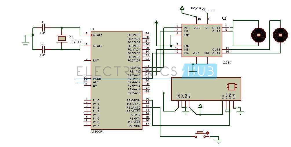 Human Detection Robot Circuit Diagram Receiver Section human detection robot circuit using 8051 microcontroller fanuc robot wiring diagram at highcare.asia