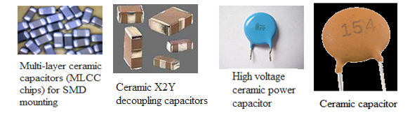 Types Of Capacitors Electrolytic Variable Amp Film Capacitors