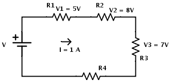 resistors in series equivalent resistance formula rh electronicshub org series circuit examples real life series circuit examples in real life