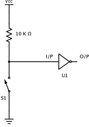 Pull Up Resistor Switch
