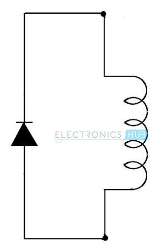 4. Simple freewheel diode