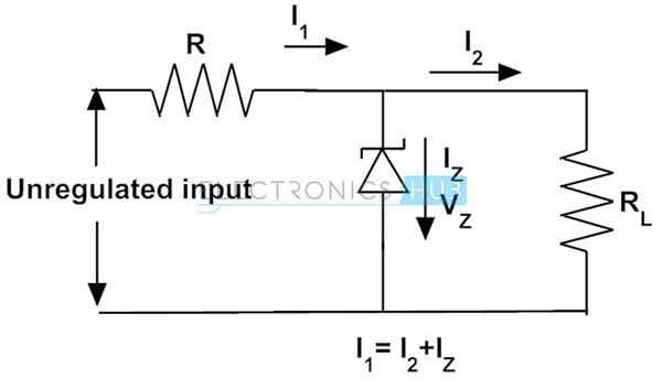 5. Zener diodo como regulador de voltaje