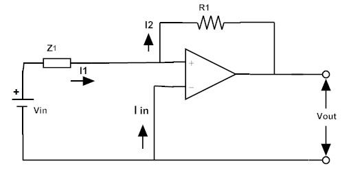 Fig: Circuito activo de filtro de paso alto t2