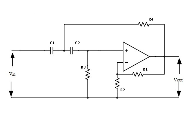 high pass filter circuit diagram
