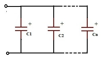 working of capacitors in series and parallel circuits rh electronicshub org wiring capacitors in series and parallel wiring capacitors in series and parallel lab