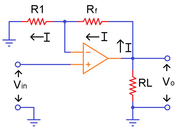 Non Inverting Operational Amplifiers Image 1