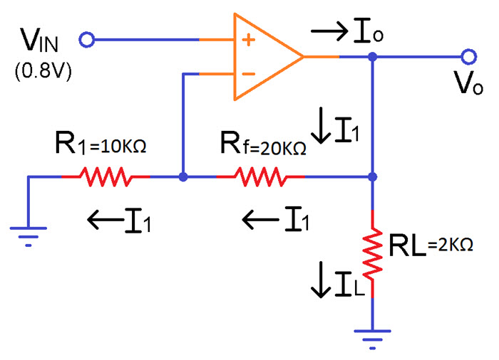 Non Inverting Operational Amplifiers Image 2