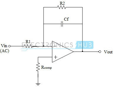 Op-amp Integrator with DC Gain Control