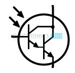 Photo Darlington Transistor Symbol